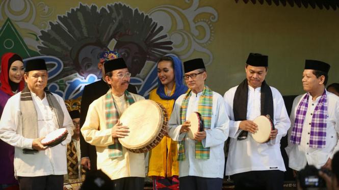 Syamsudin Noor di Festival Setu Babakan