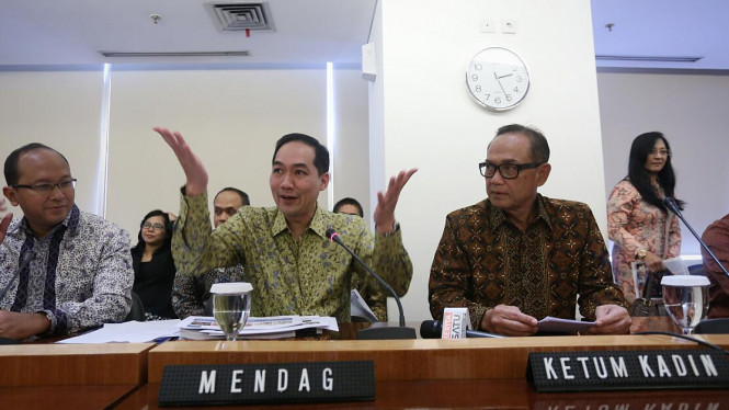 Mendag Muhammad Lutfi Saat Kerjasama Dengan Suryo Bambang Sulisto Kadin