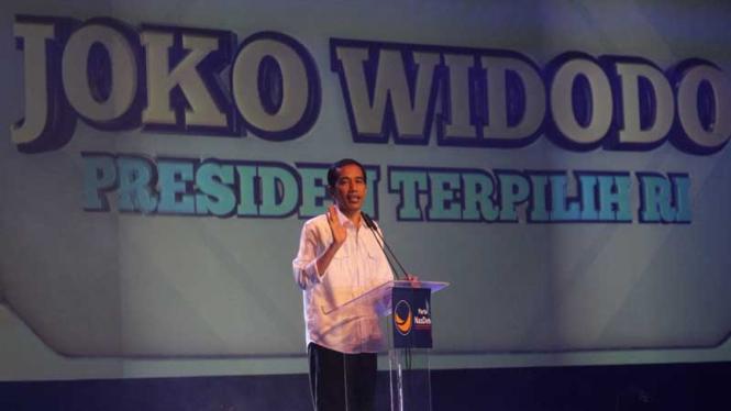 Jokowi-JK Hadiri Halal BIhalal NasDem