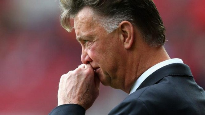 Mantan manajer Manchester United, Louis Van Gaal.