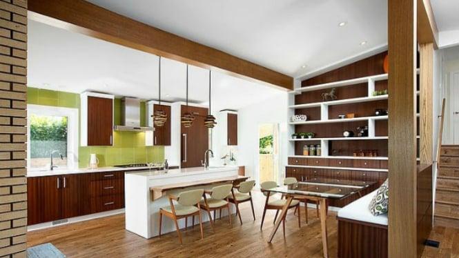 Salah satu konsep rumah minimalis yang sejuk.