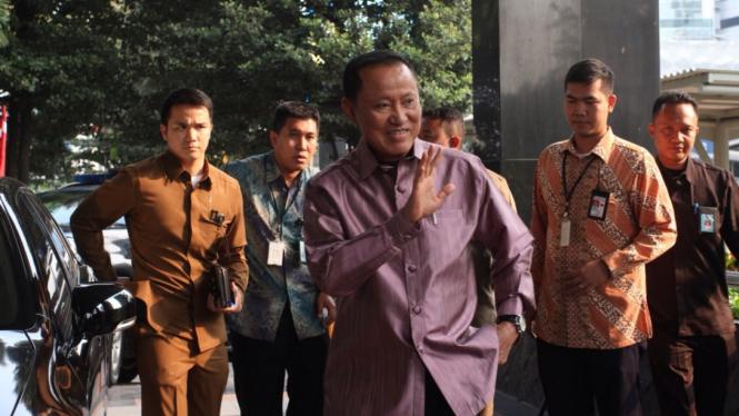 Petinggi Partai Demokrat Amir Syamsuddin