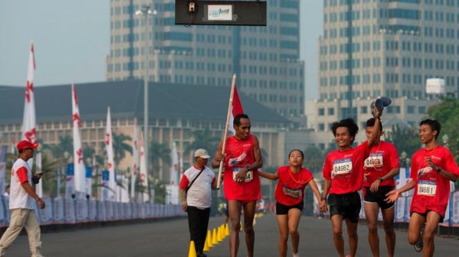 Ilustrasi Lomba maraton