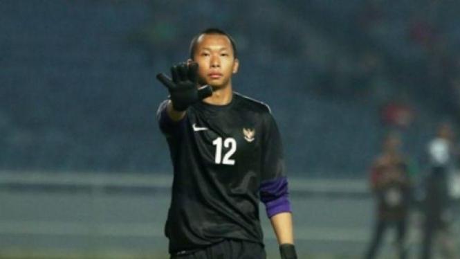 Kiper Timnas Indonesia U-23, Awan Setho Rahardjo.