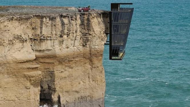 Cliff House dari Modscape Concept, Australia
