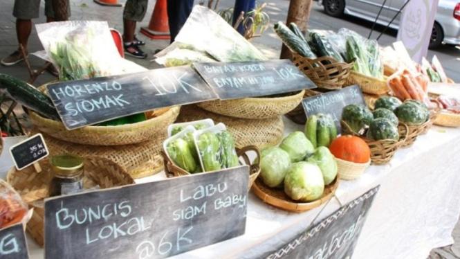 Parappa atau Pasar Para Petani di Eat Local, Jakarta