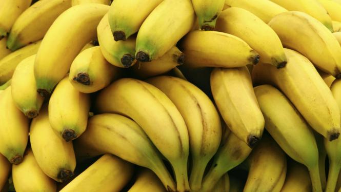Ilustrasi tumpukan pisang