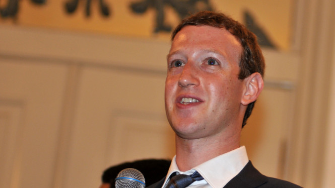 CEO dan Pendiri Facebook, Mark Zuckerberg.