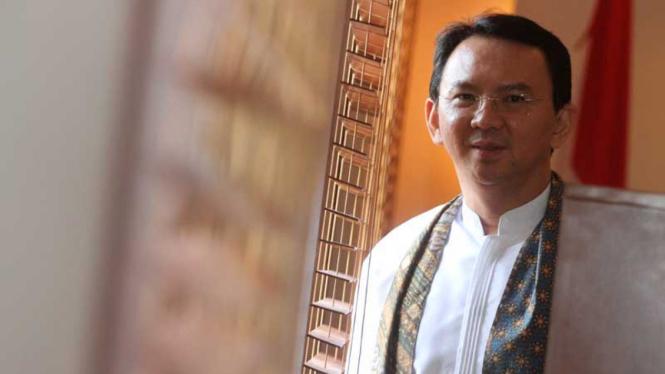 Gubernur DKI Jakarta, Basuki Thahaja Purnama atau Ahok.