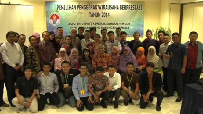 Kemenpora Umumkan Juara Kompetisi Wirausaha Muda Berprestasi 2014