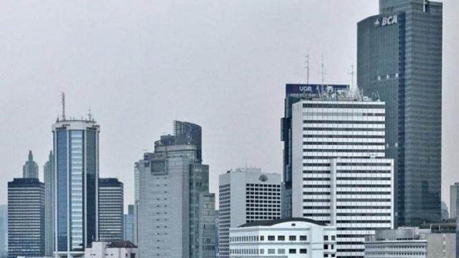Gedung perkantoran di Ibu Kota.