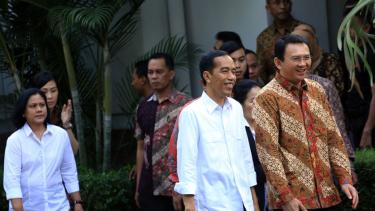 Jokowi dan Basuki Tjahaja Purnama atau Ahok.