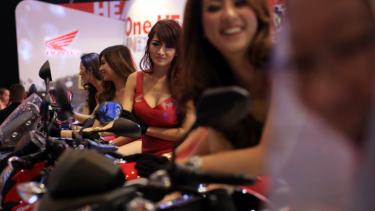 Honda di Indonesia Motorcycle Show 2014
