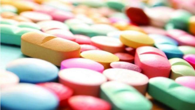 Ilustrasi antibiotik.