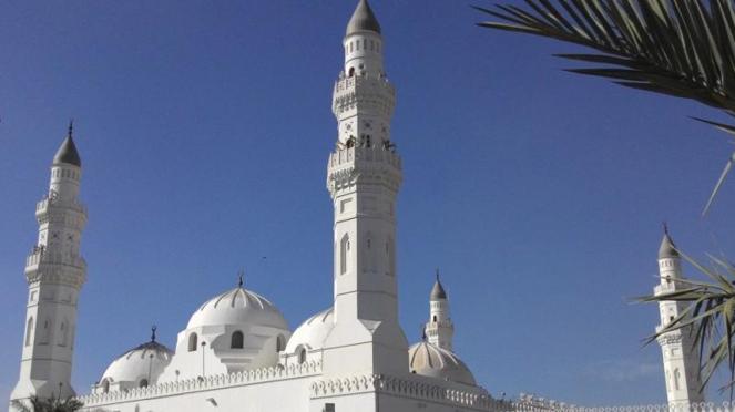 Masjid Quba di Madinah