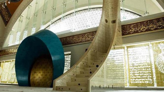 Masjid Sakirin di Istanbul
