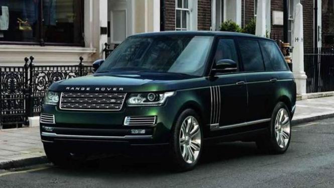 Range Rover edisi spesial untuk berburu