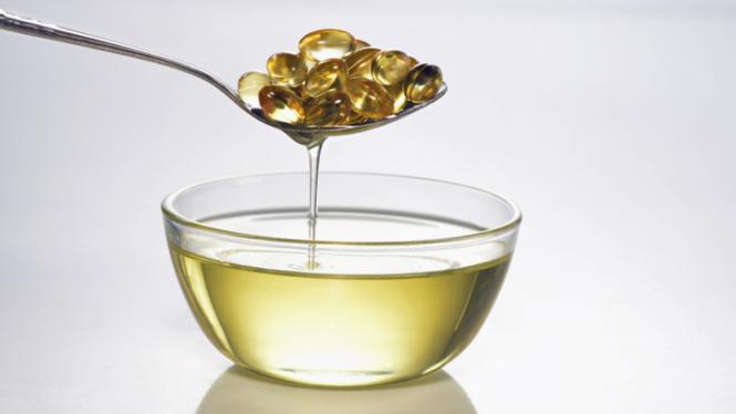 Ilustrasi minyak ikan