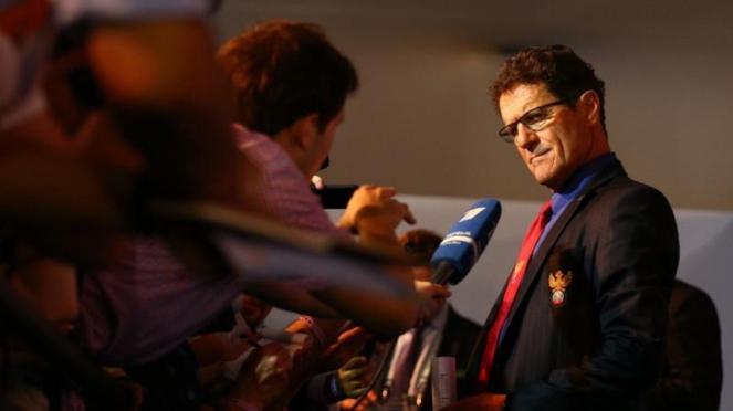 Pelatih legendaris Italia, Fabio Capello.