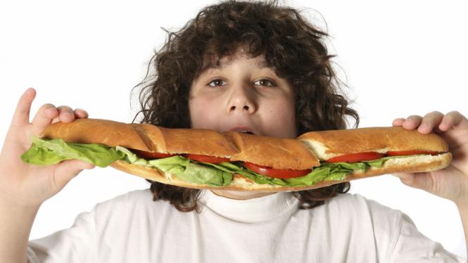 Ilustrasi Obesitas Anak