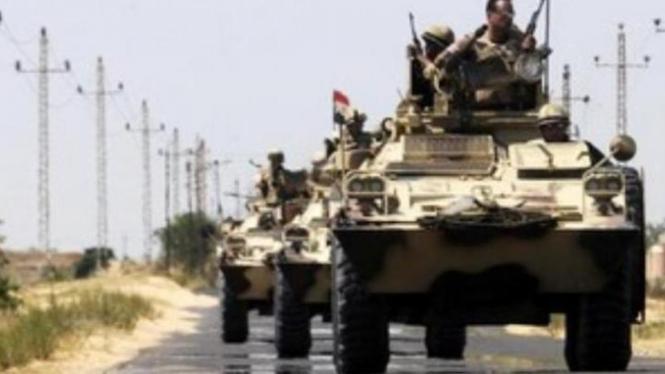 Militer Mesir di Sinar