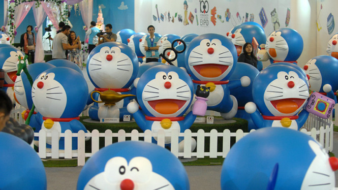 """Doraemon 100 Secret Gadget Expo"" Resmi dibuka"