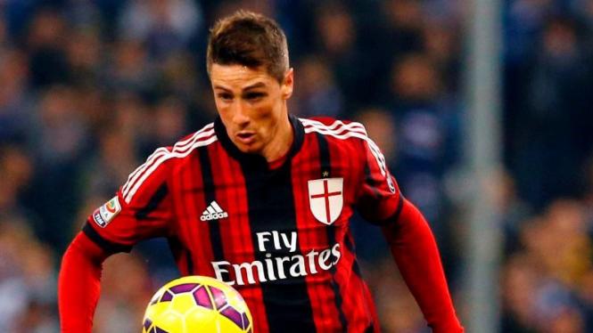 Penyerang AC Milan, Fernando Torres