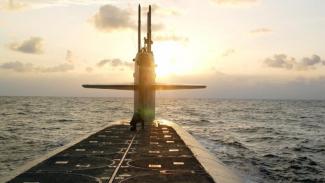 Ilustrasi kapal selam.