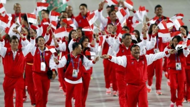 Kontingan Indonesia pada Asian Games di Korsel September 2014