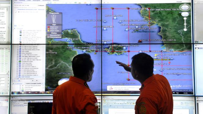 Operasi pencarian pesawat AirAsia