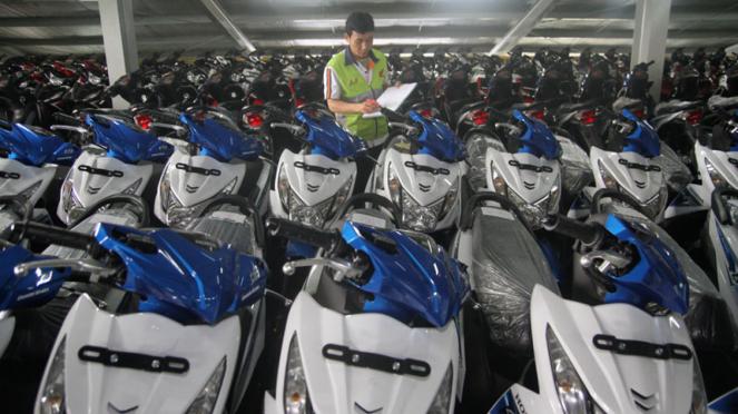 Penjualan sepeda motor nasional