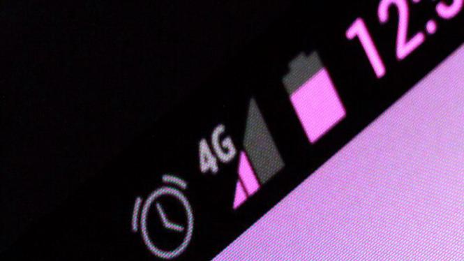 Ilustrasi layanan 4G.