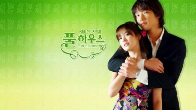 Drama Korea Full House.