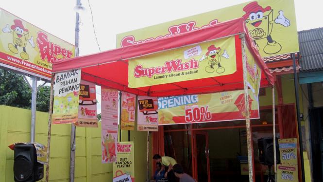 SuperWash, Waralaba Laundry Siap Mendunia