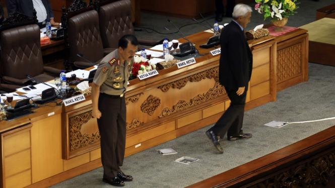 DPR Setujui Budi Gunawan Menjadi Kapolri