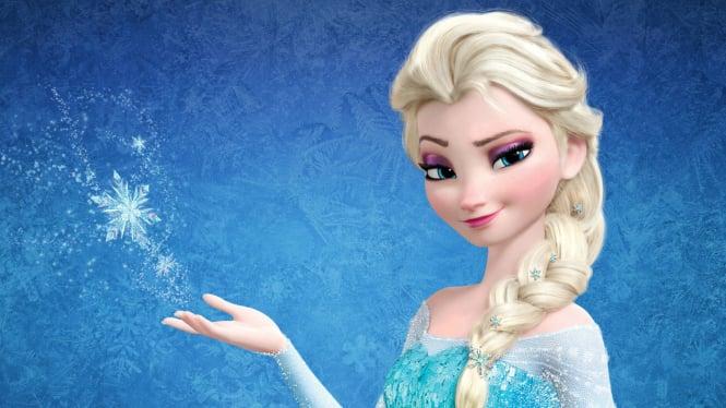 Putri Elsa Frozen