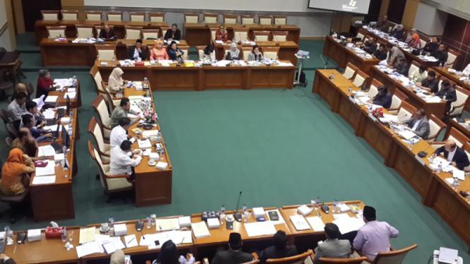 Rapat Dengar Pendapat Komisi VIII DPR RI dengan Kementerian Sosial RI