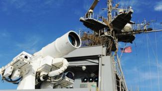 Sistem persenjataan laser milik AS.