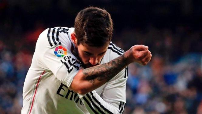 Pemain Real Madrid, Isco.
