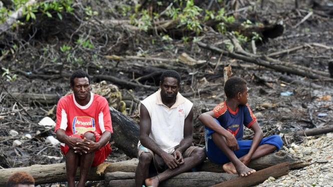 Ilustrasi Warga Papua.