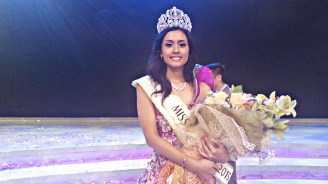 Miss Indonesia 2015 Maria Harfanti