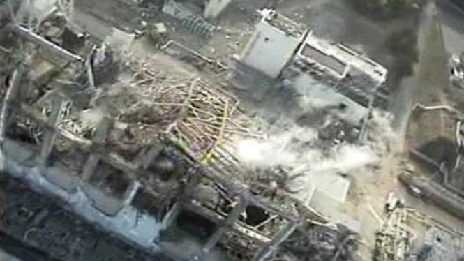 Reaktor nuklir Fukushima yang meledak pada Maret 2011