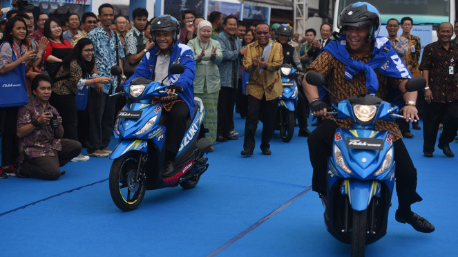 Ekspor Suzuki Address