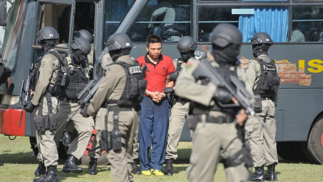 Latihan Pengamanan Bali Nine