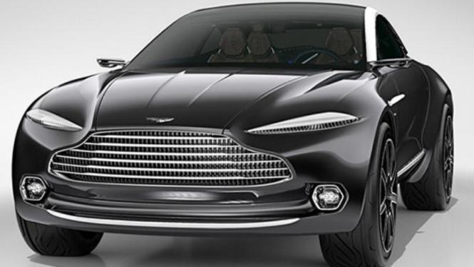 Konsep Aston Martin DBX