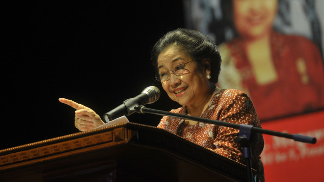 Presiden kelima Republik Indonesia, Megawati Soekarnoputri.
