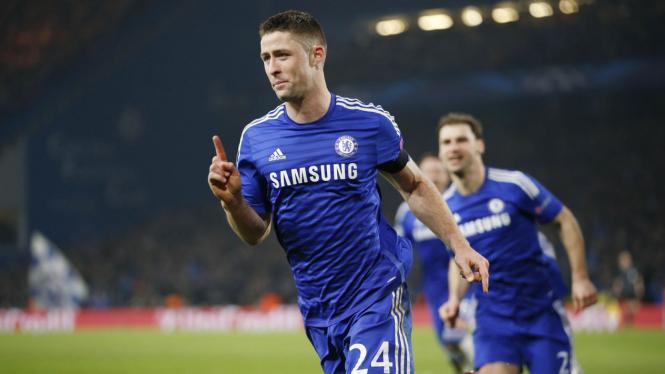 Bek Chelsea, Gary Cahill