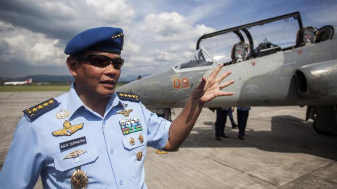 Mantan KSAU (Purn) Marsekal TNI Agus Supriatna