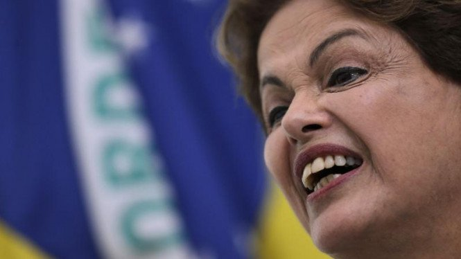 Presiden Brasil, Dilma Rousseff.