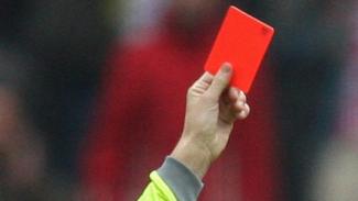 Kartu merah.